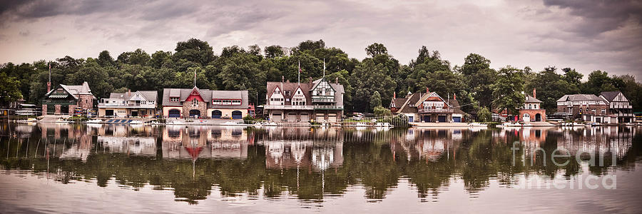Boathouse Row Photograph - Boathouse Row by Stacey Granger