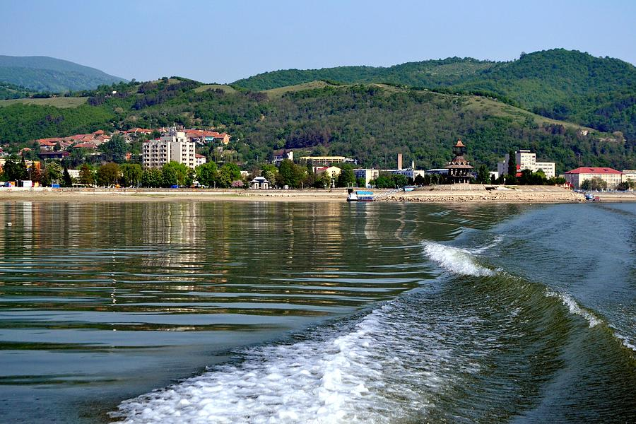 Roumania Photograph - Boating Danube by Ion Relu