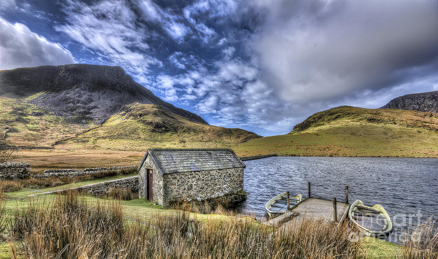 Landscape Photograph - Boating Lake by Darren Wilkes