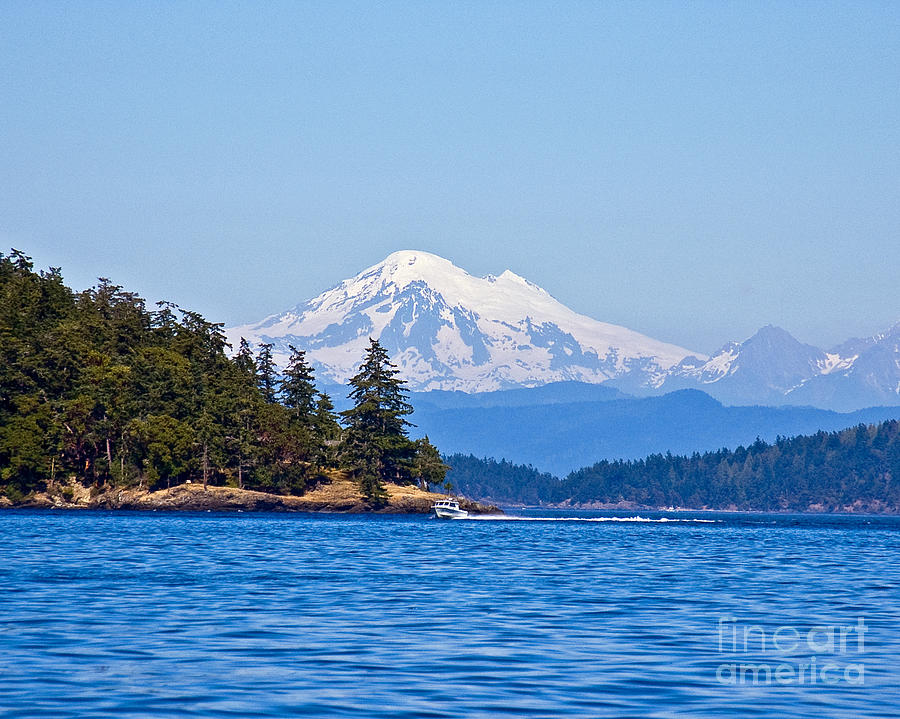 Boating Photograph - Boating On Puget Sound by Chuck Flewelling