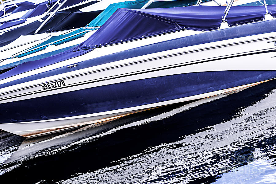 Boat Photograph - Boats And Reflections by Elena Elisseeva