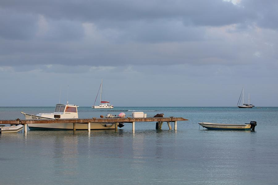 Dock Photograph - Boats At Rest by Eric Glaser