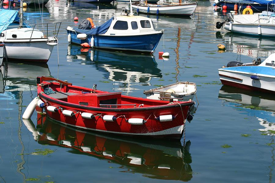 Boat Photograph - Boats by Gillian Dernie