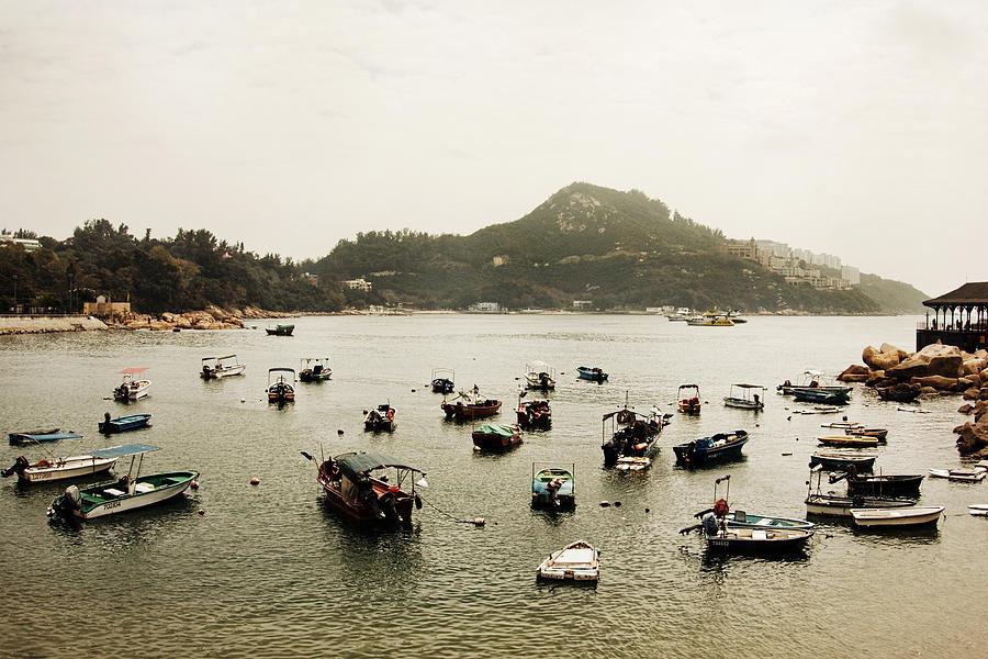 Boats HK I by Osvaldo Hamer