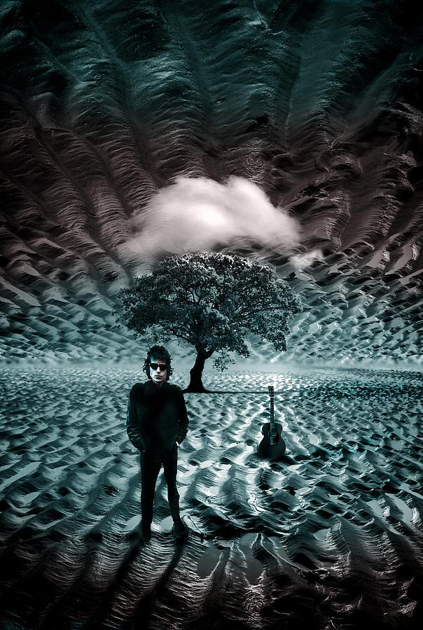 Bob Dylan Photograph - Bob Dylan A Hard Rains A-gonna Fall by Mal Bray