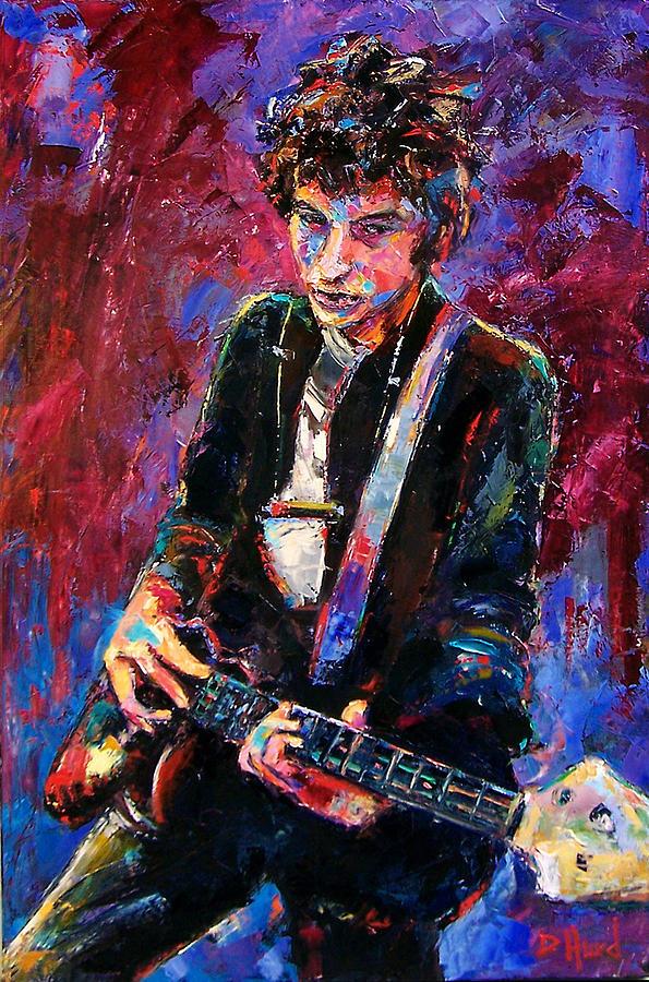 Bob Dylan Painting - Bob Dylan by Debra Hurd