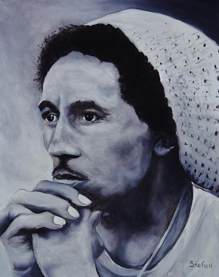 Bob Marley Painting - Bob Marley by Stefon Marc Brown