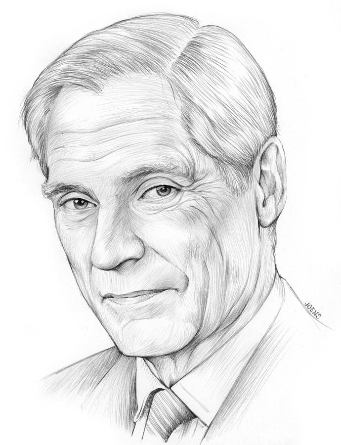 Bob Simon Drawing