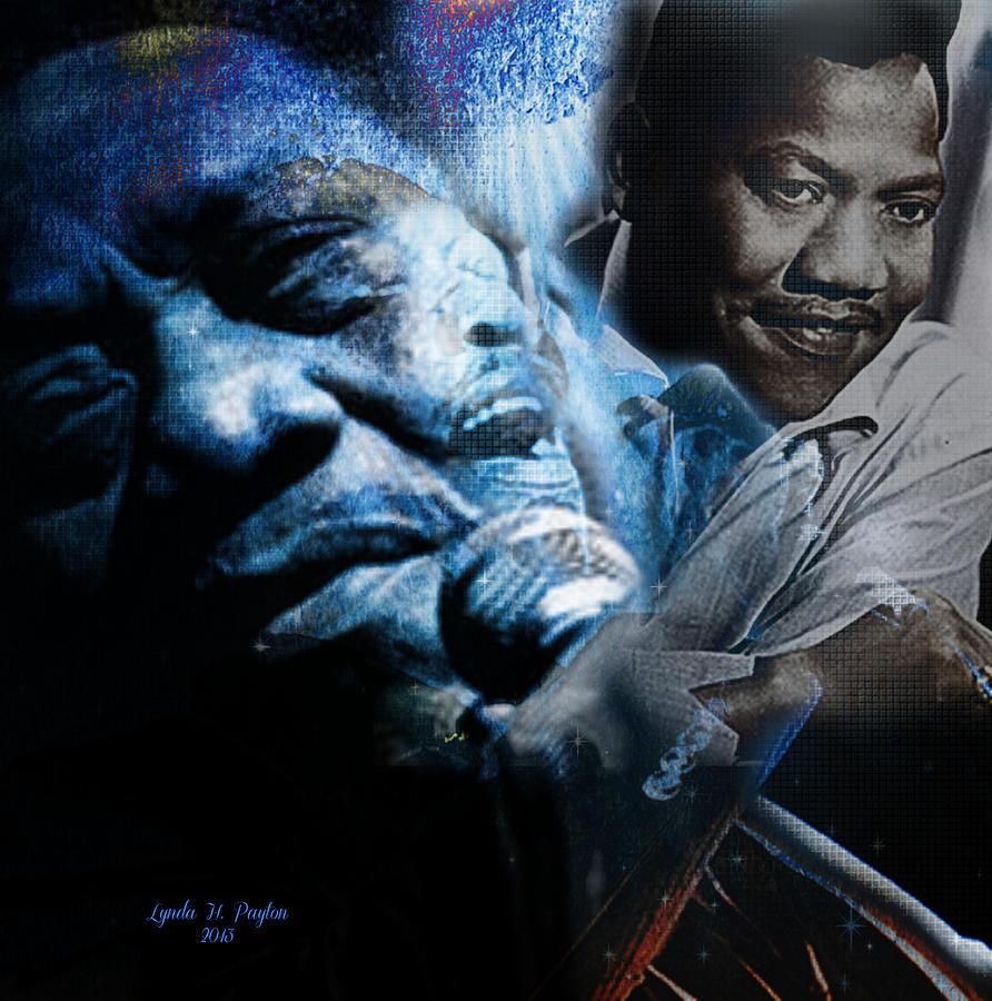 Bobby Blue Bland Digital Art - Bobby Blue Bland by Lynda Payton