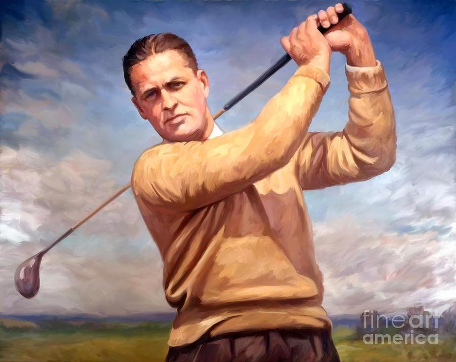 Bobby-jones Painting - bobby Jones by Tim Gilliland
