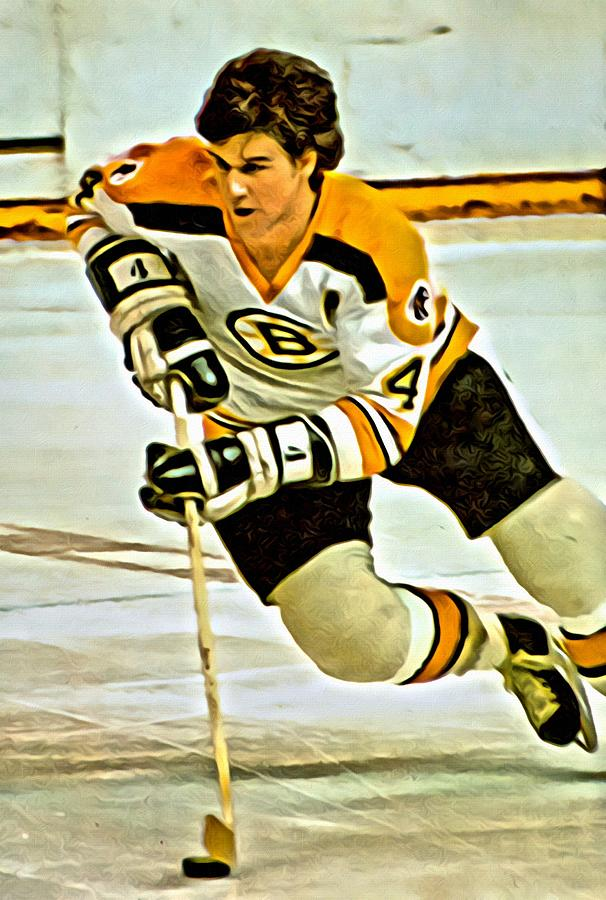 Bobby Orr Painting By Florian Rodarte