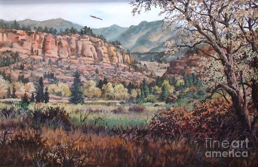 Bobcat Ridge Painting - Bobcat Ridge by W  Scott Fenton