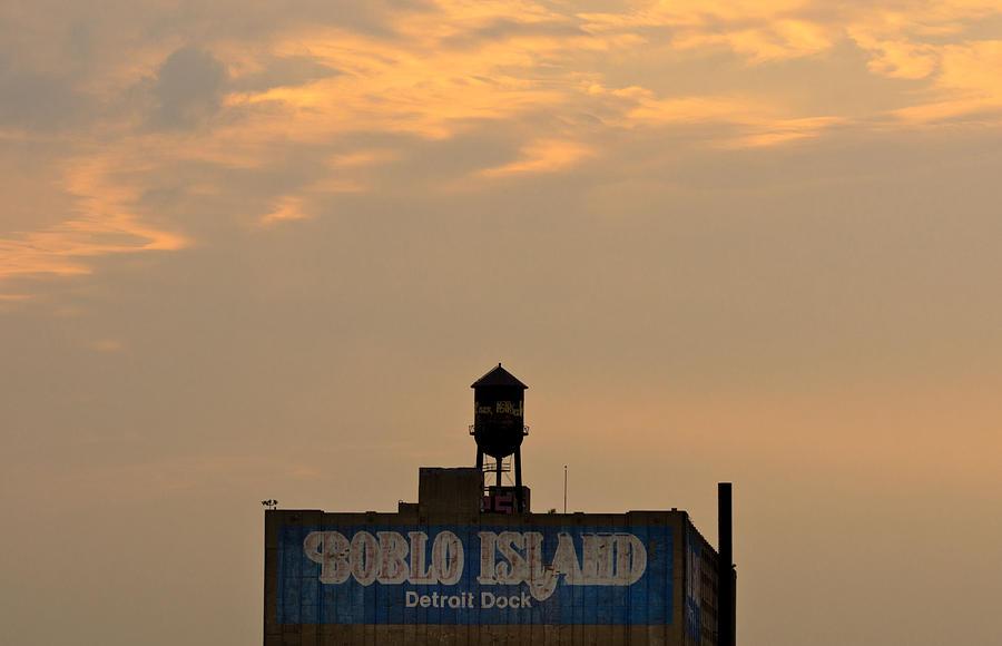 Island Photograph - Boblo Detroit Dock by Cale Best