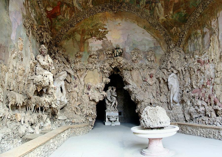 Boboli la grotta grande 3 photograph by ellen henneke for Jardines boboli