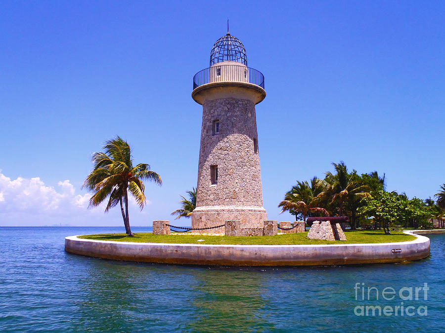 Boca Chita Lighthouse Photograph By Carey Chen