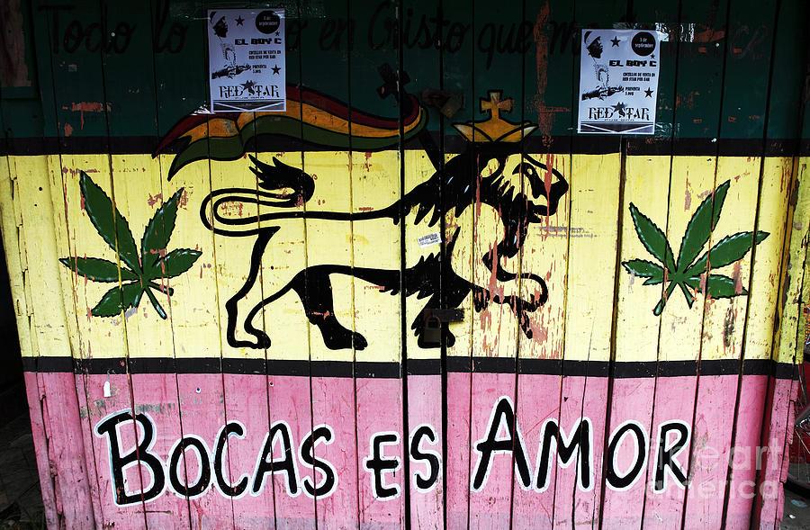Bocas Es Amor Photograph - Bocas Es Amor by John Rizzuto