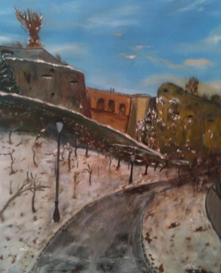 Bock Painting - Bockfiels Am Schnei  by Nicla Rossini