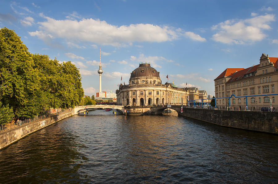 Bode Museum Photograph - Bode Museum In Berlin Germany by Pam  Elliott
