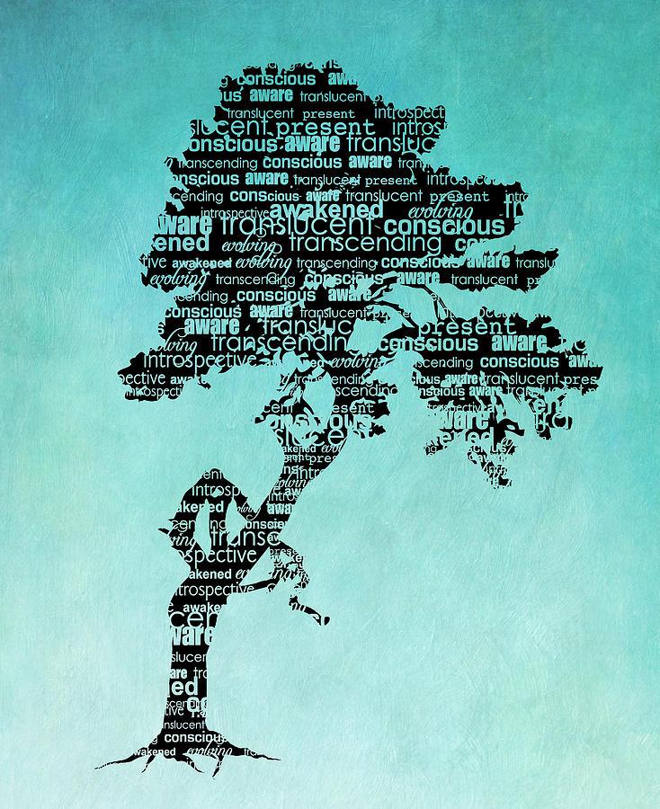 Bodhi Tree Digital Art - Bodhi Tree of Awareness by Tammy Wetzel