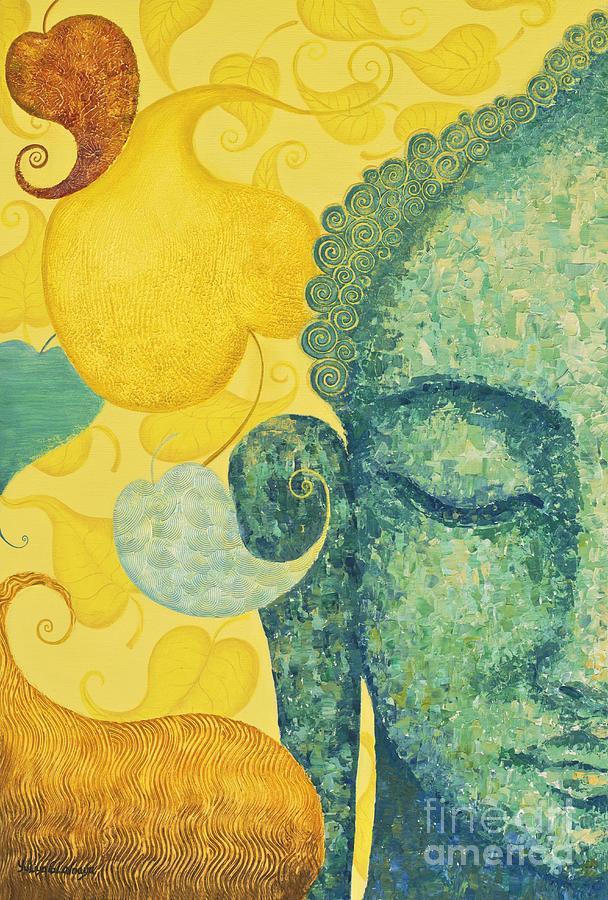 Buddha Painting - Bodhi by Yuliya Glavnaya
