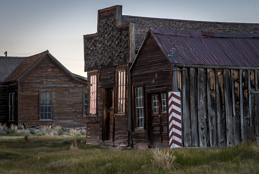 Bodie Photograph - Bodie Bar And Barber by Cat Connor