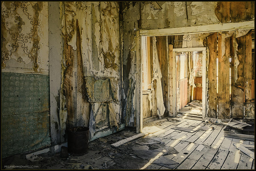Bodie Photograph - Bodie California Forgotten Ballroom by LeeAnn McLaneGoetz McLaneGoetzStudioLLCcom