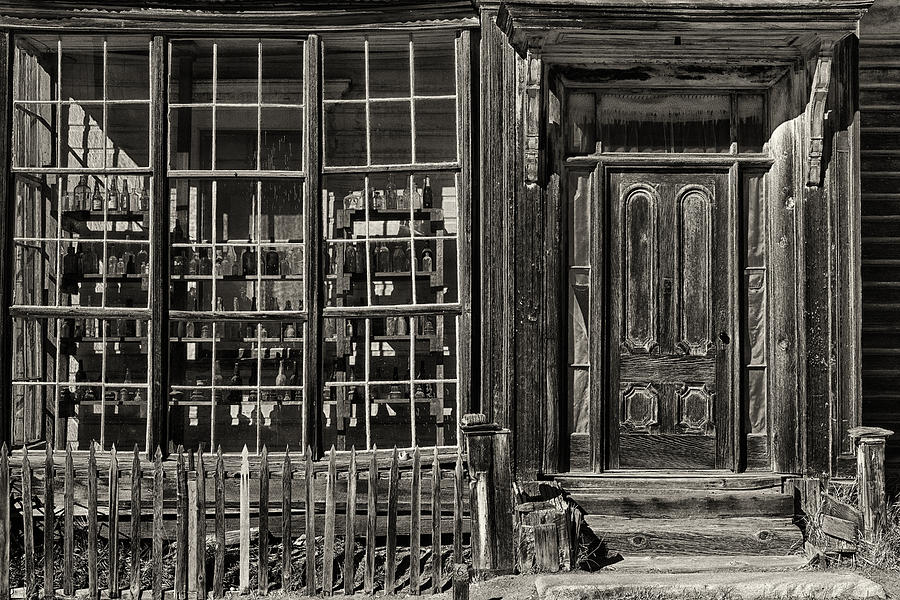 California Photograph - Bodie Ghost Town by Robert Fawcett