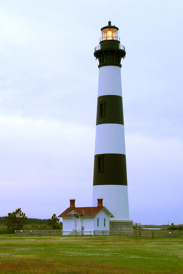 Evening Scene Photograph - Bodie Light 4 by Mike McGlothlen