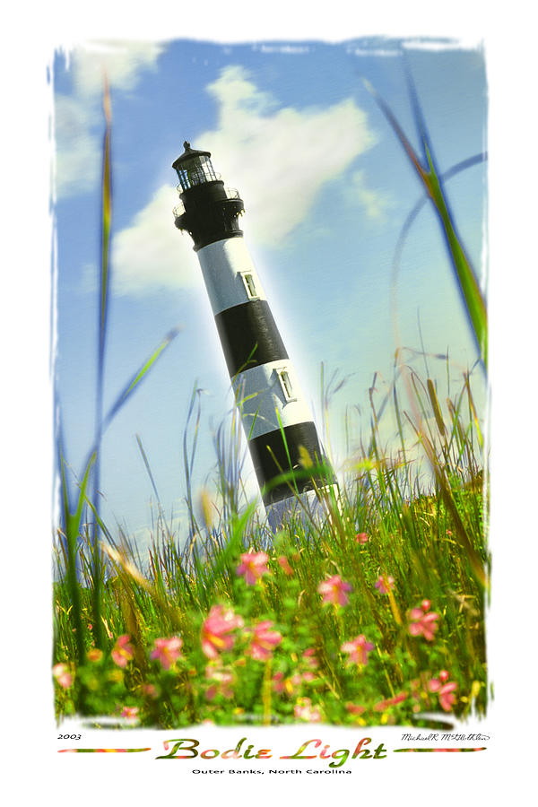 Lighthouse Photograph - Bodie Light II by Mike McGlothlen