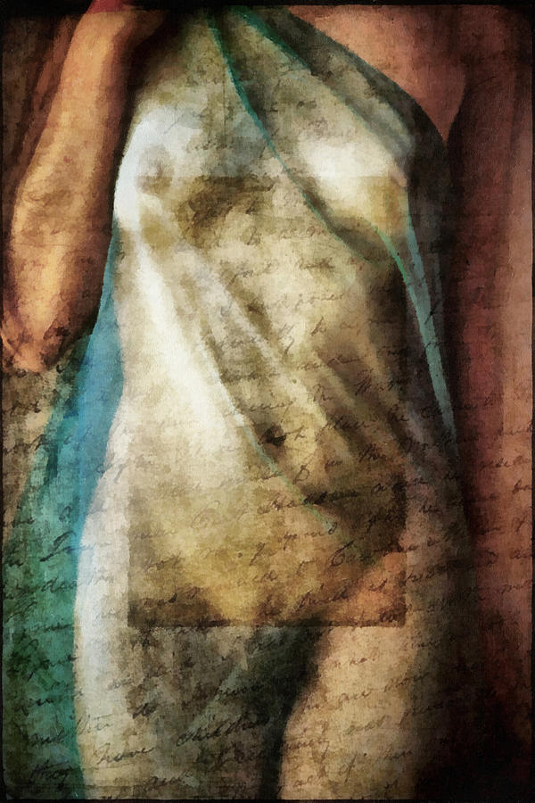 Nude Digital Art - Body And Fiction by Marco Antonio Pajola