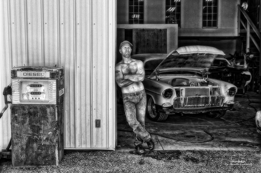 Hdr Photograph - Body Shop by Dan Quam
