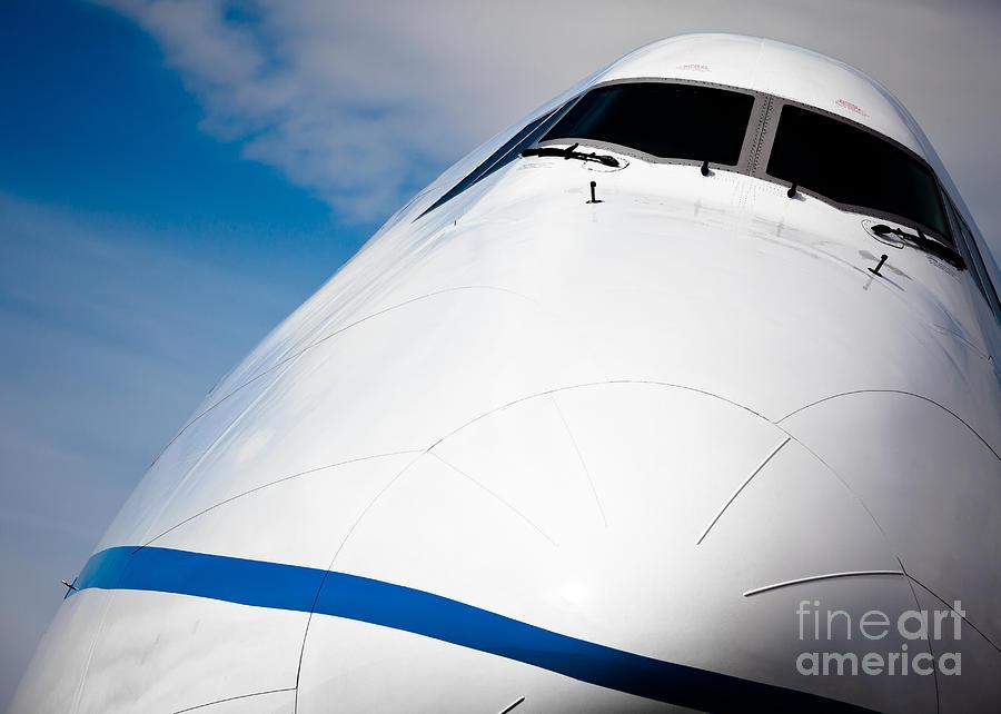 Boeing Photograph - Boeing 747 by Rastislav Margus