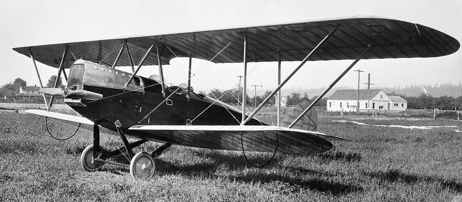Biplane Photograph - Boeing Bbl-6 Trainer by Hank Clark