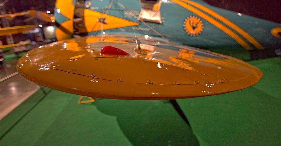 Boeing P26 Peashooter Wing Photograph