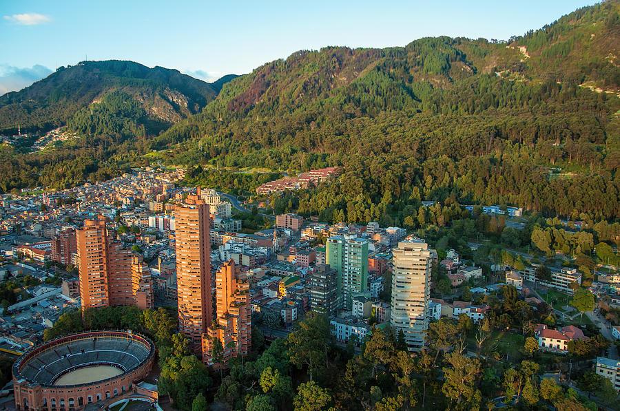 Bogota Photograph - Bogota Colombia by Jess Kraft