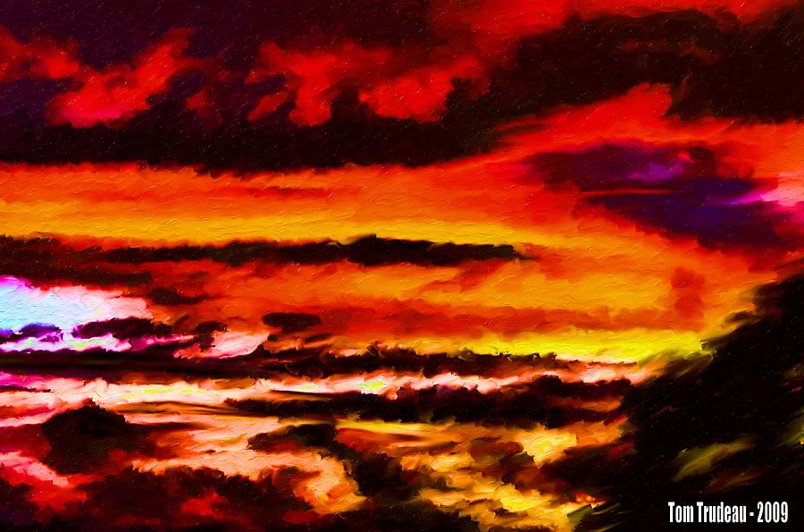 Bohemian Sunset Mixed Media
