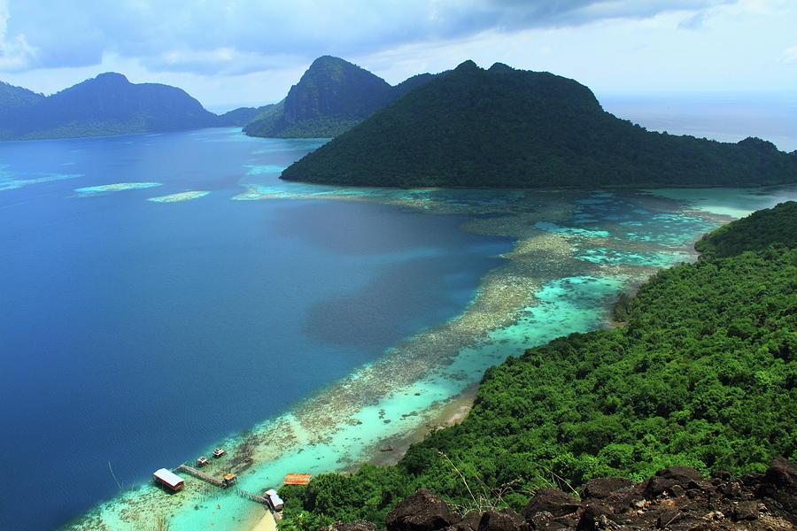 Bohey Dulang Island, Sabah, Malaysia Photograph by Azad Azahar Adnan