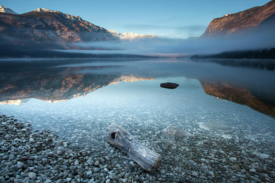 Landscape Photograph - Bohinjs Tranquility by