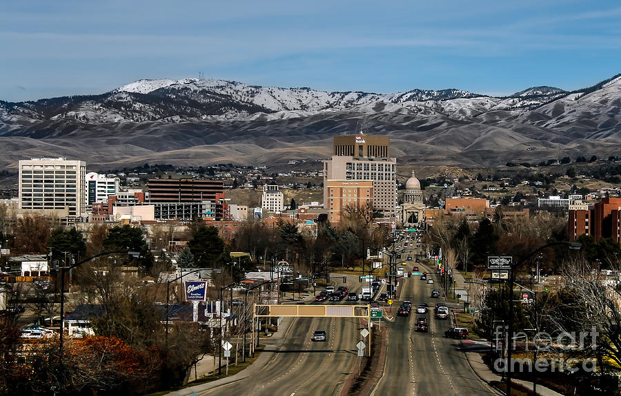 City Photograph - Boise Idaho by Robert Bales