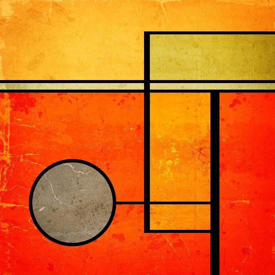 Mid Century Digital Art - Bold Assumptions by Richard Rizzo