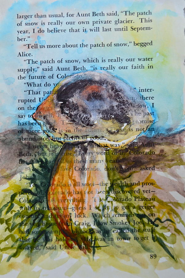 Boletus Edulis Painting - Boletus Edulis by Beverley Harper Tinsley