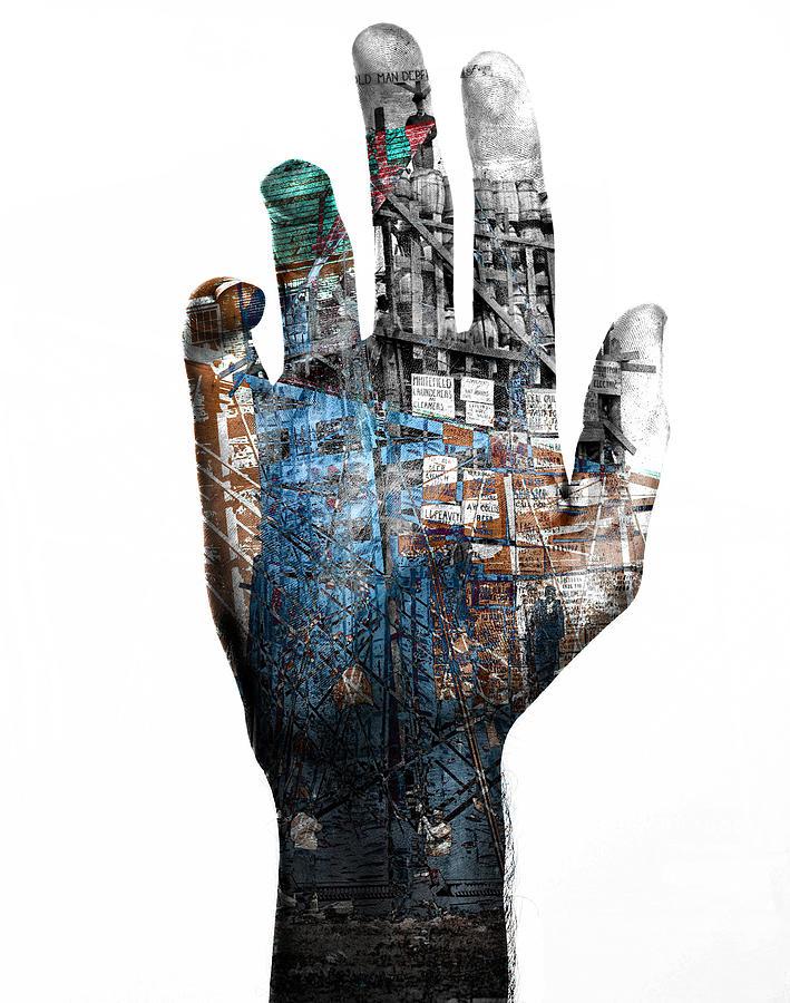 Digital Digital Art - Bollman and Bridge Arms by Mary Clanahan