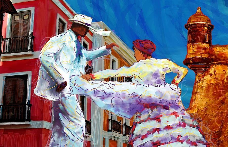 Bomba Y Plena Digital Art By Javier Soto