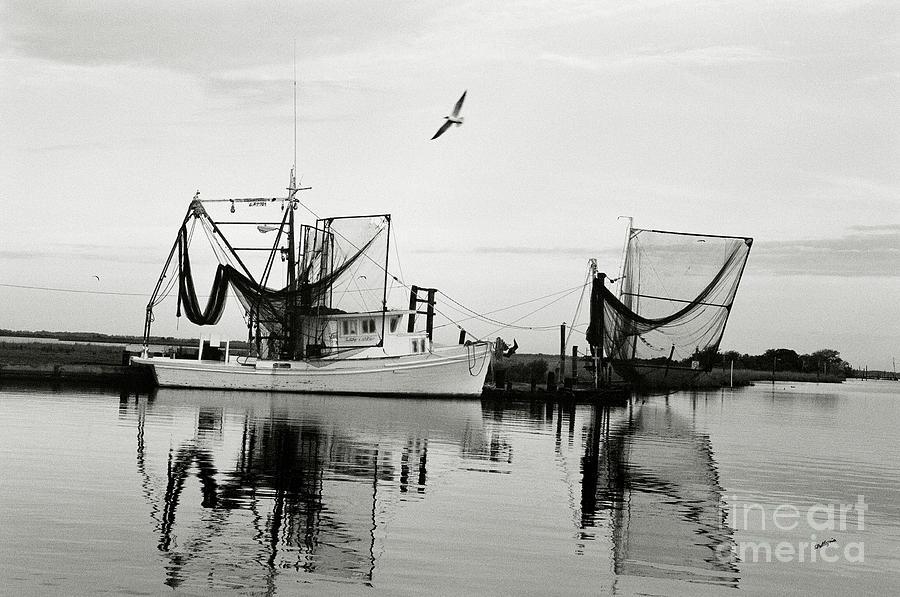 Shrimp Boat Photograph - Bon Temps by Scott Pellegrin