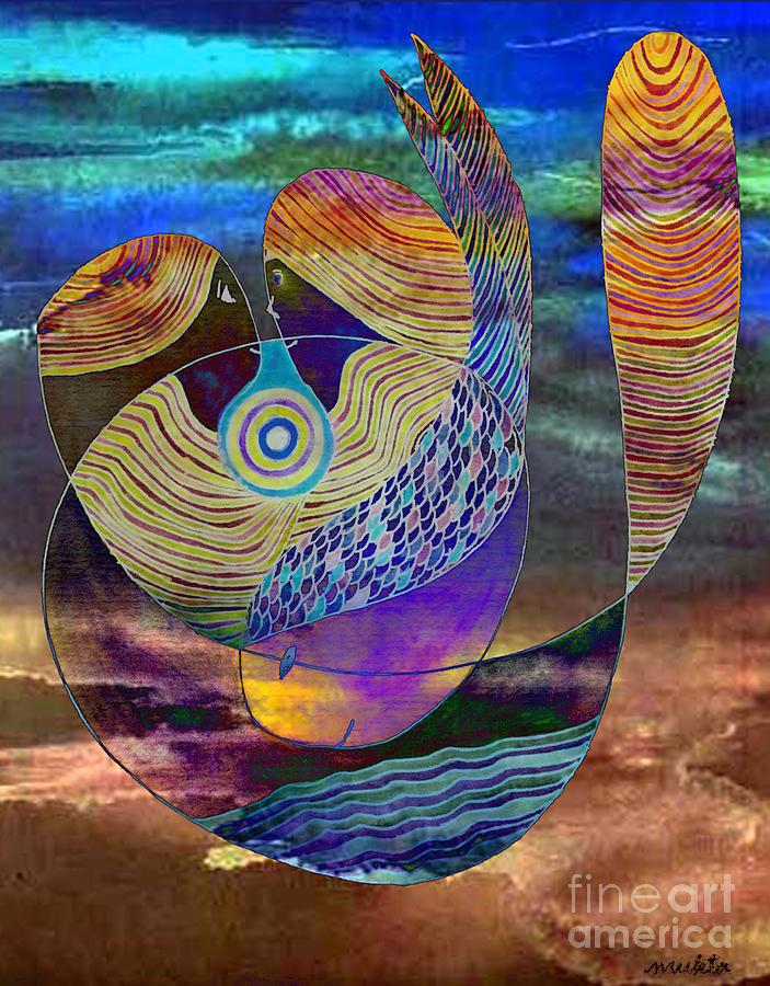 Peace Painting - Bonded In Harmony by Mukta Gupta