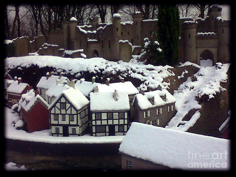 Bondville Model Village Photograph by Merice Ewart