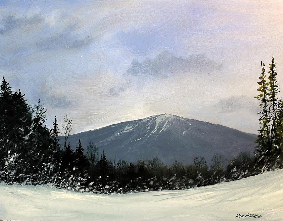 Vermont Painting - Bondville Vista by Ken Ahlering