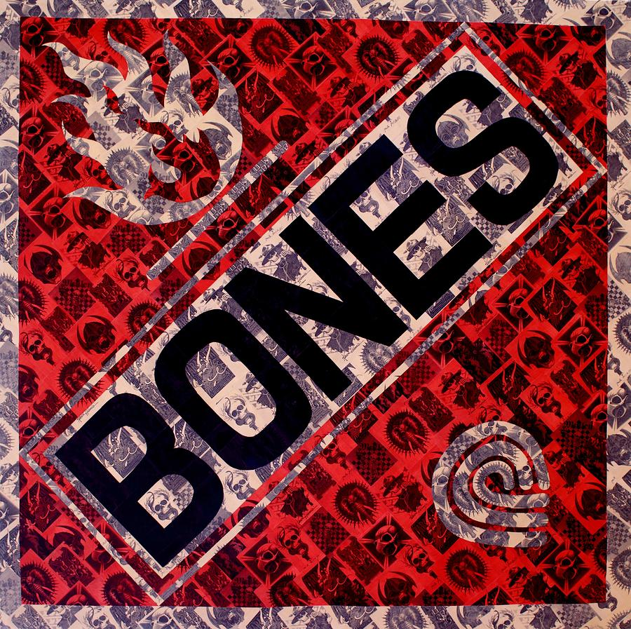 Powell Peralta Painting - Bones by Brent Andrew Doty
