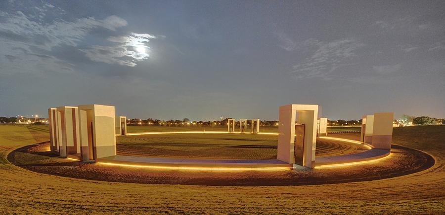 Bonfire Memorial Photograph - Bonfire Memorial by David Morefield