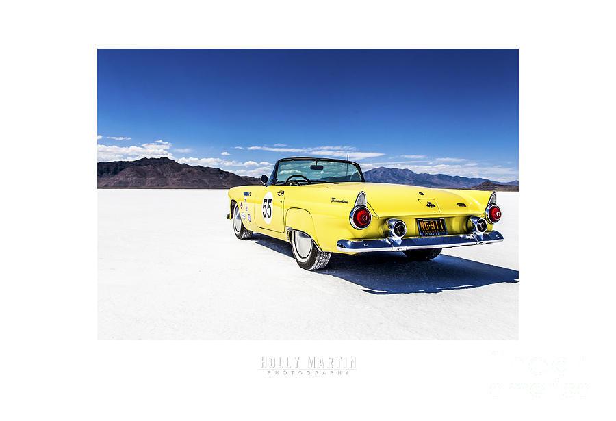 Antique Automobile Photograph - Bonneville T-bird by Holly Martin